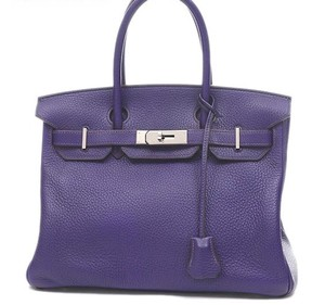 Hermès Birkin Birkin 30 Color Satchel in iris - purple