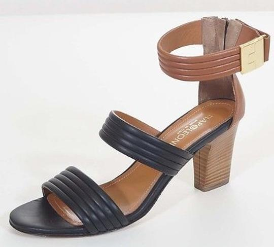Preload https://item2.tradesy.com/images/napoleoni-womens-black-brown-leather-ankle-strap-sandals-heels-shoes-2390986-0-0.jpg?width=440&height=440