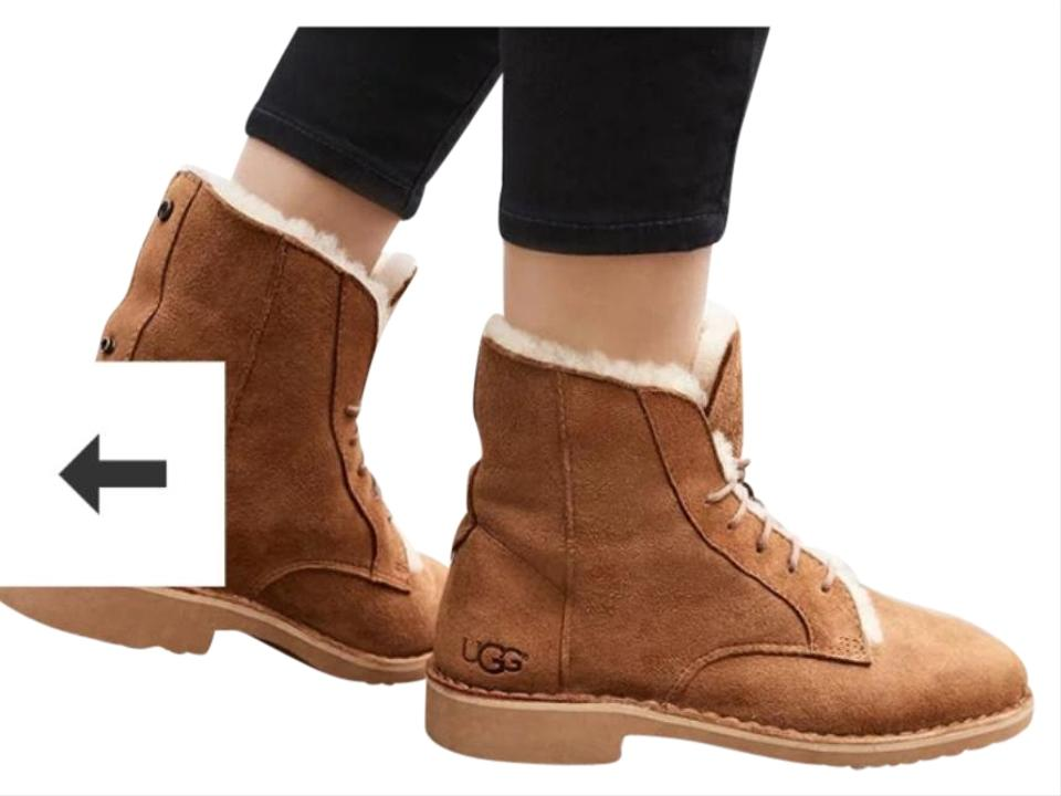 2b2fdd35dd2 UGG Australia Chestnut W Quincy Water Resistant Boots/Booties Size US 8.5  Narrow (Aa, N) 20% off retail