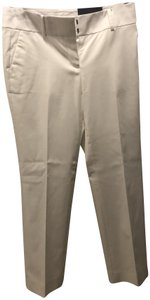 Ann Taylor New With Tags Never Worn Trousers Straight Pants White