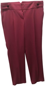 Ann Taylor Pleated Hot Trouser Pants Pink