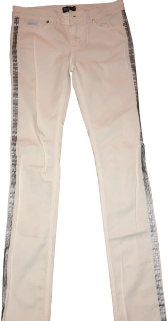 Item - White Light Wash Straight Leg Jeans Size 2 (XS, 26)