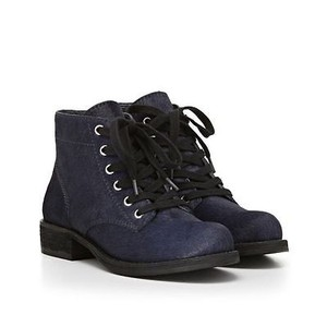 Sam Edelman Bleecker Womens Navy Boots