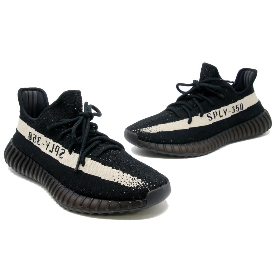 cec9f1b21d4 adidas X Yeezy Black Boost 350 V2 White Oreo 10.5 Shoes Image 0 ...