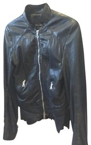 Marissa Webb black Leather Jacket