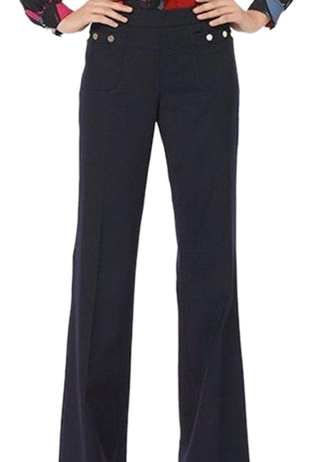 Item - Navy Wool Pants Size 2 (XS, 26)