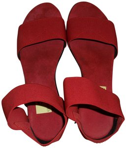 Charleston Shoe Co. Red Sandals