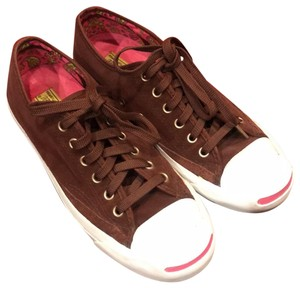 Brown Converse Sneakers Flat Up to 90% off at Tradesy