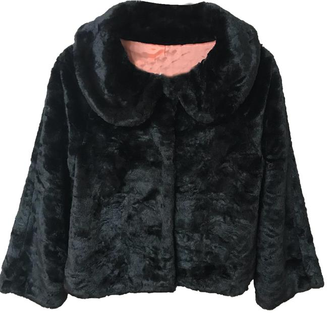 Item - Black Swing Faux Coat Size 6 (S)