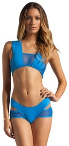 Minimale Animale S 4 Swimsuit Swimwear Cut Out Mesh Spandex Nylon Women Lady Fashion
