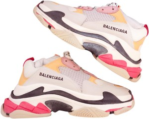 Balenciaga White & Gray Athletic