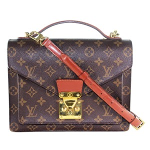 Louis Vuitton Monogram Canvas Monceau Vintage Classic Cross Body Bag
