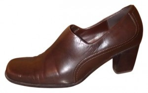 Liz Claiborne Dark Brown Flats