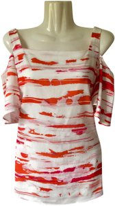 Alex Marie Top ivory/coral