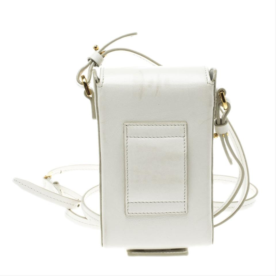 Mini Ford Camera White Body Tom Bag Leather Cross Fxzq5dwd