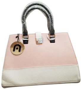 Nila Anthony Gold Hardware New With Tags Tote in Pink, black, and white.