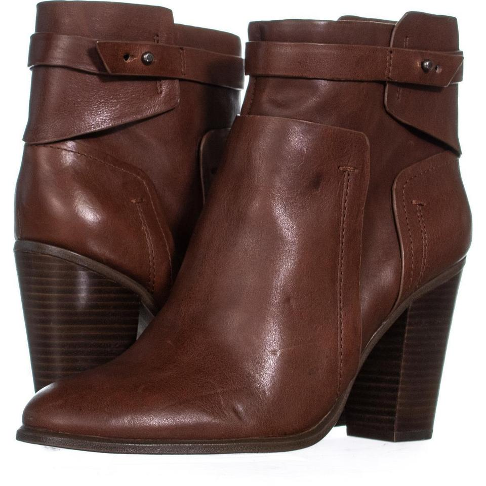 Vince Camuto Brown Chocolate Faythe Ankle Strap 016 Chocolate Brown Decadence Boots/Booties 879b6c