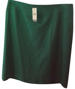 Talbots Mini Skirt kelly Green
