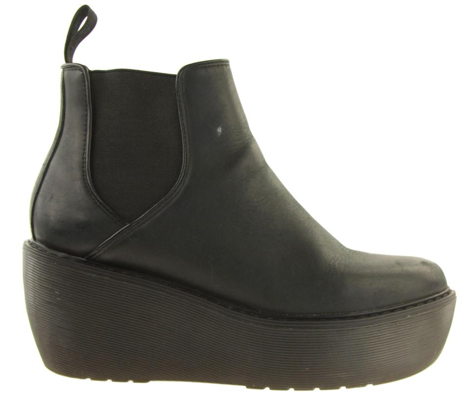9caac30c48b8 Dr. Martens Black Aerial Chelsea Boxy Wedge Boots Booties Size US 9 ...