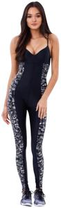 THE UPSIDE The Upside Etched Paisley Catsuit
