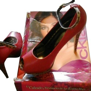 Stilletos Platform High Heels Red Platforms