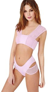 Minimale Animale Nasty Gal S 4 Swimsuit Swimwear Cut Out Mesh Spandex Nylon Women Lady
