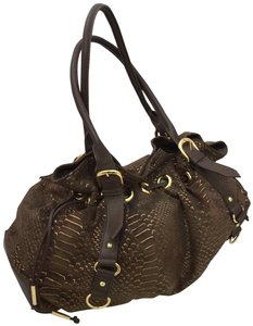 Adrienne Vittadini Satchel in Sable Brown