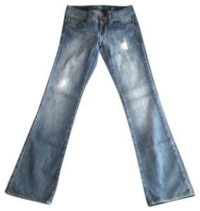 Guess Straight Leg Jeans-Distressed