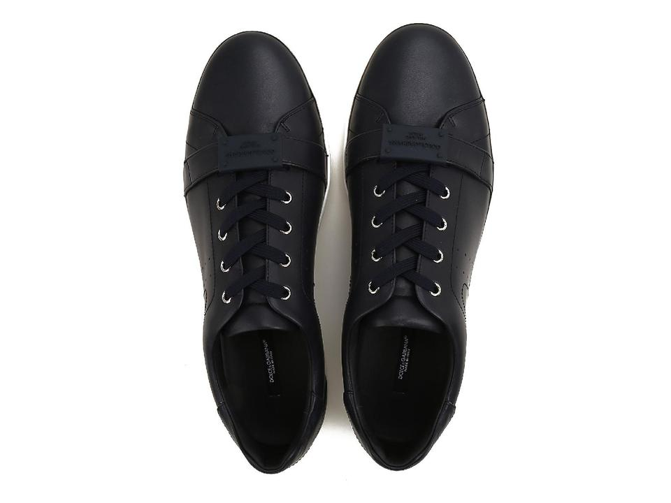 Sneakers In Black amp;Gabbana Men's Leather Calf Dolce Sneakers TwSvgnqax0