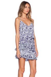Twelfth St. by Cynthia Vincent short dress Blue/Purple/White on Tradesy