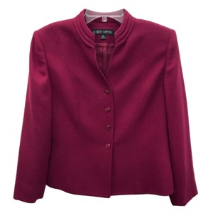 Albert Nipon Red Blazer