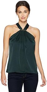 Trina Turk Top Forest Green