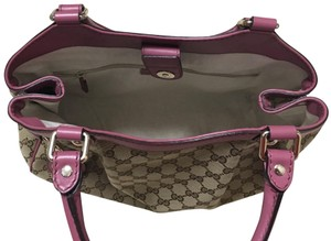 Gucci Tote in Pink, brown