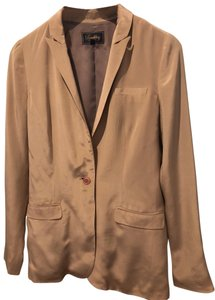 Buckley Tailors Silk Suiting Madewell Dusty pink Blazer