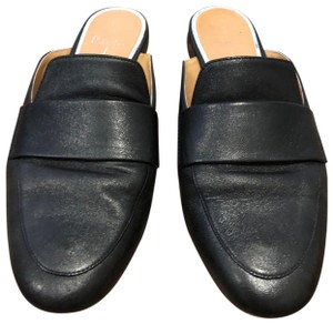 Paolo Loafer Mule black Flats