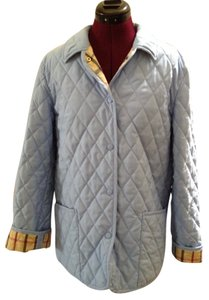 Brooks Brothers Quilted Light Blue Jacket