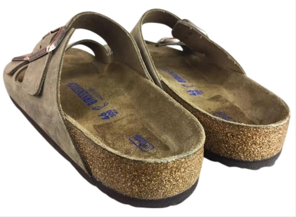 Birkenstock Mens Arizona Light Brown 46eu/13us 46eu/13us 46eu/13us Softbed Sandals 740350