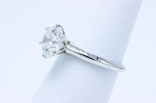 Tiffany & Co. D Vvs1 Round Brilliant Diamond 2.01 Cts Platinum Engagement Ring Image 2