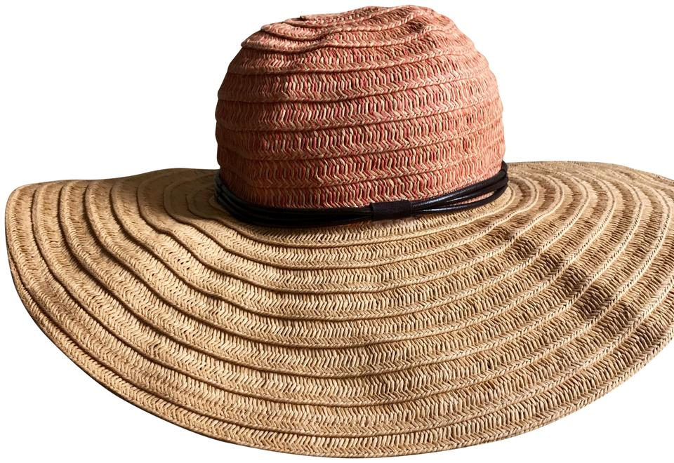 Anthropologie Anthropologie packable wide-brimmed straw beach hat ... cb31df2250d