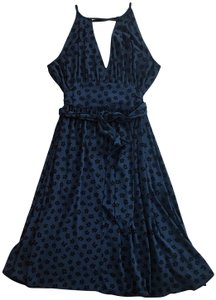 Marc by Marc Jacobs short dress Deep blue with navy flowers on Tradesy