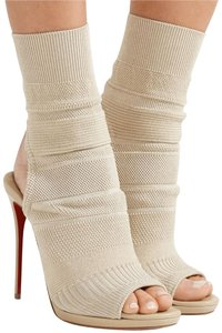 Christian Louboutin Sandals Cheminene Pigalle Beige Boots