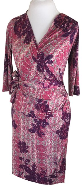 Preload https://item5.tradesy.com/images/melissa-masse-pink-print-wrap-mid-length-workoffice-dress-size-4-s-23917079-0-1.jpg?width=400&height=650