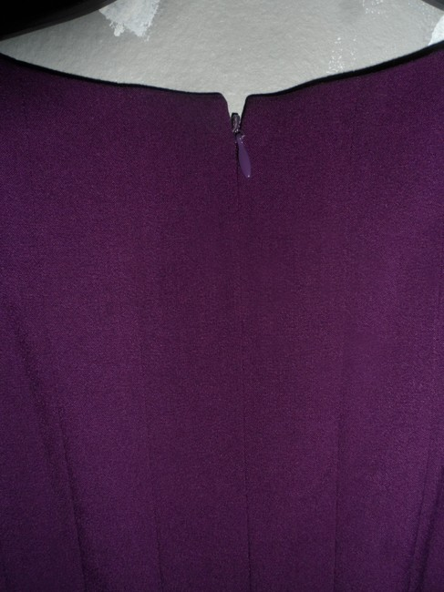 Calvin Klein New With Tags Business Attire Work/Office Professional Purple Dress