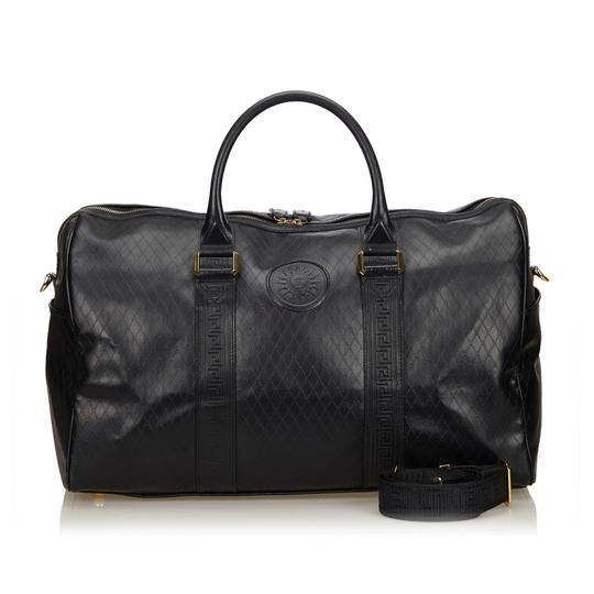 Preload https://img-static.tradesy.com/item/23917115/versace-way-boston-black-leather-x-others-hobo-bag-0-0-540-540.jpg