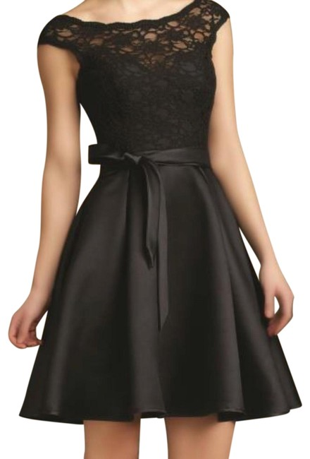 Preload https://img-static.tradesy.com/item/23917118/mori-lee-black-31068-short-night-out-dress-size-10-m-0-1-650-650.jpg