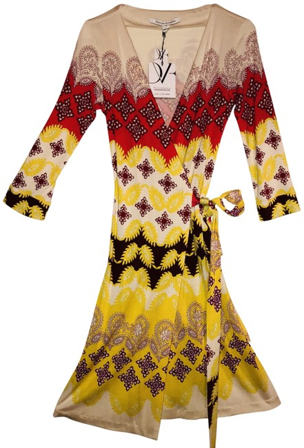 Preload https://item2.tradesy.com/images/diane-von-furstenberg-multicolor-new-julian-two-indian-borders-yellow-mid-length-short-casual-dress--23917121-0-1.jpg?width=400&height=650