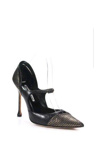 Preload https://item3.tradesy.com/images/manolo-blahnik-black-leather-mary-jane-pumps-size-eu-39-approx-us-9-regular-m-b-23917127-0-0.jpg?width=440&height=440