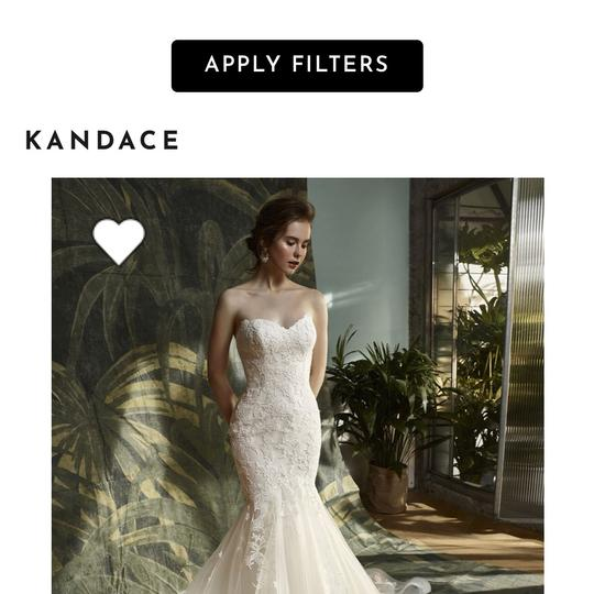 Preload https://img-static.tradesy.com/item/23917131/enzoani-white-polyester-blue-by-kandace-modern-wedding-dress-size-10-m-0-0-540-540.jpg