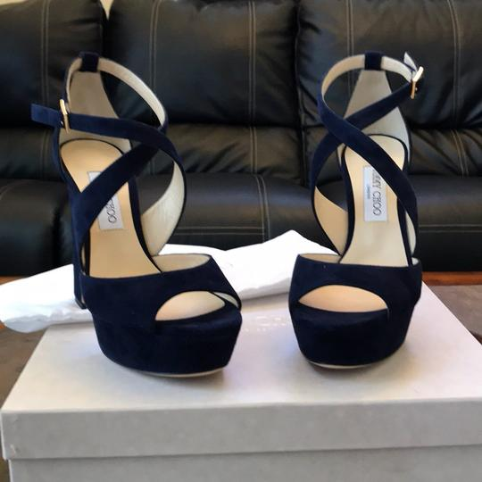 Jimmy Choo navy Platforms