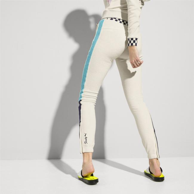 FENTY PUMA by Rihanna FENTY X PUMA Vanilla Terry Cloth Racing Track Pants